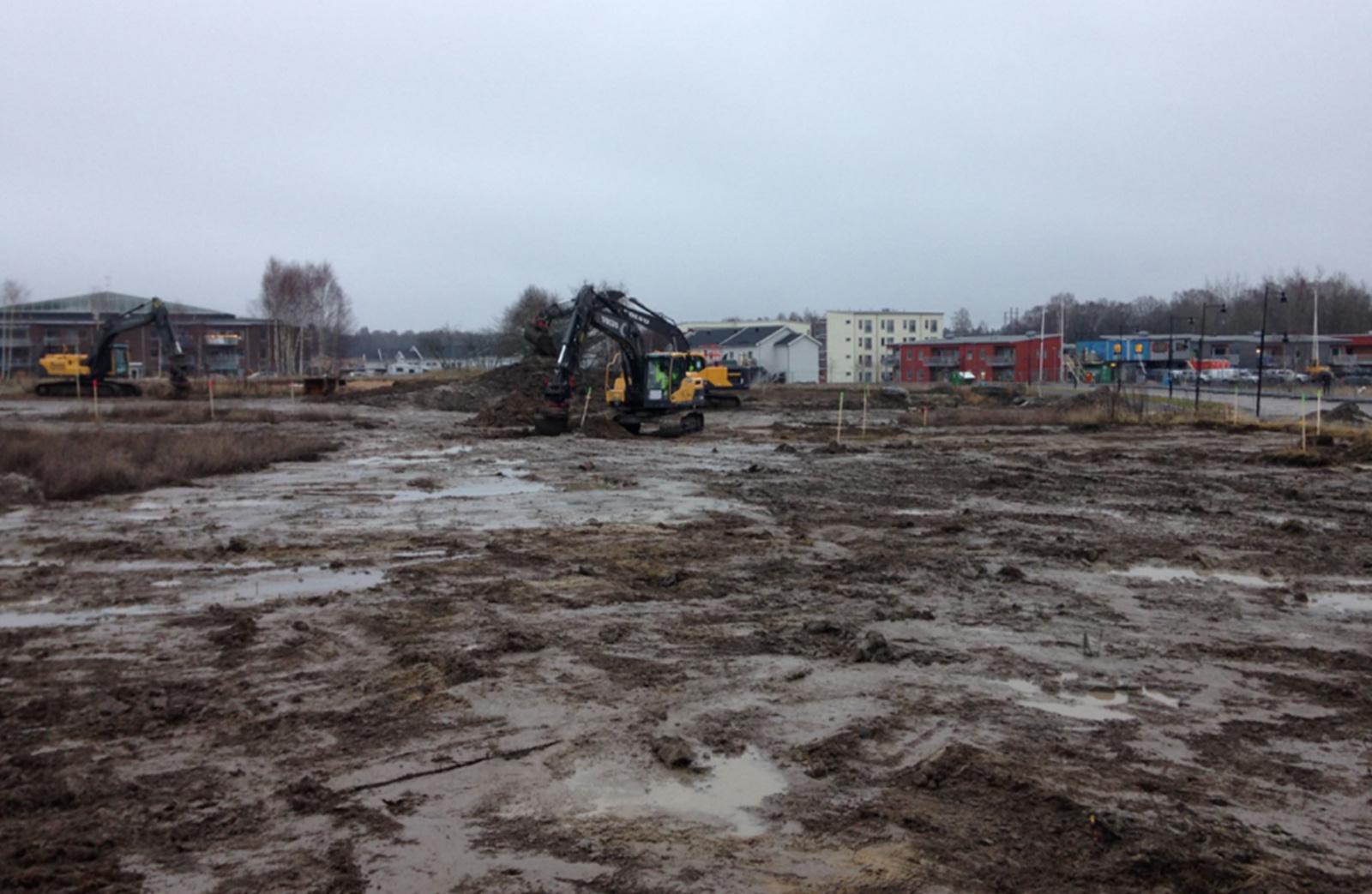 Ribby Ängar etapp 3 - Markdivisionen
